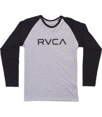 camiseta rvca manga longa big rvca