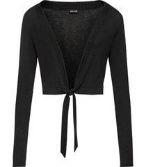 bolero in maglia (nero) - bodyflirt