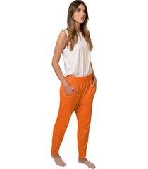 pantalon jogger femenino mandarina tall