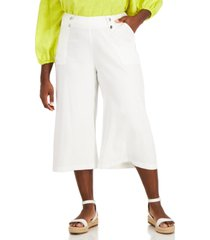 inc plus size culotte pants, created for macy's