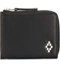 marcelo burlon county of milan cross logo wallet - black