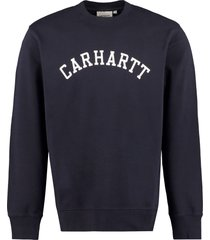 carhartt logo detail cotton sweatshirt