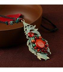collana girocollo in maglia di lega girocollo in stile ikeramic per le donne