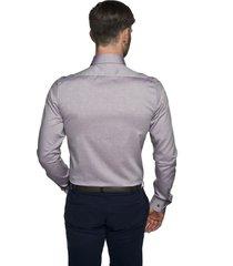 koszula bexley 2571 długi rękaw ssf fiolet