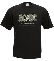 ac dc ac/dc let there be rock men's t-shirt tee many colors