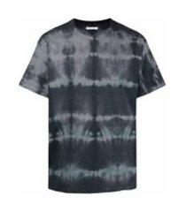 john elliott camiseta mangas curtas com estampa tie-dye - cinza
