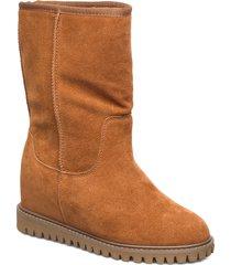 fara wool höga stövlar brun shoe the bear