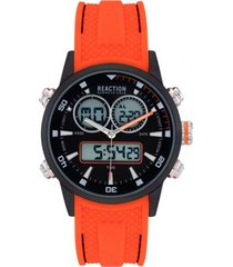 reloj naranja reaction by kenneth cole