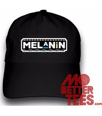 printed melanin dad hat