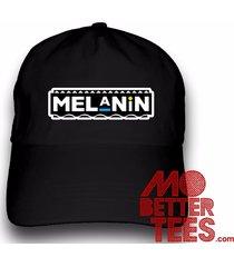 printed melanin dad hat