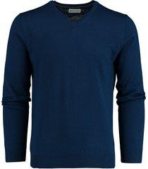 bos bright blue aron v-neck pullover flat kni 19305ar25bo/250 royal blue