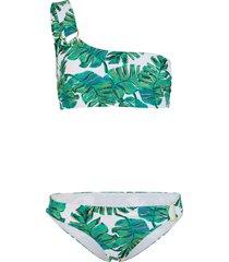 bikini a fascia (set 2 pezzi) (bianco) - rainbow