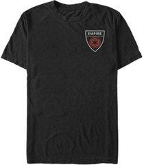 fifth sun star wars men's empire pocket badge short sleeve t-shirt
