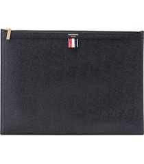 thom browne thom browne leather pouch