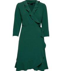 2nd elly dresses wrap dresses grön 2ndday