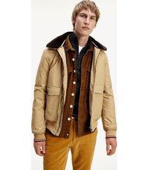 tommy hilfiger men's lightweight insulated bomber jacket classic khaki - xxxl