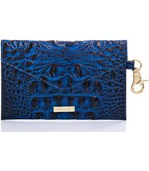 brahmin melbourne embossed leather byo mask case