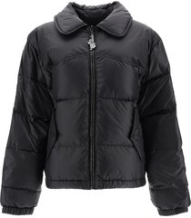 marc jacobs down jacket with crystals