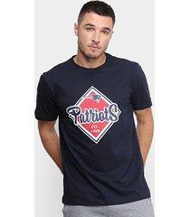 camiseta new era nfl new england patriots masculina
