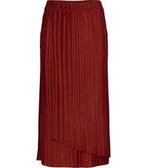 sc-kirit knälång kjol röd soyaconcept