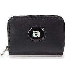 dime zip-around leather wallet