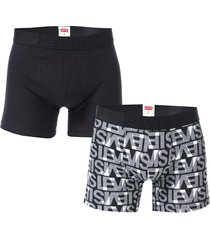 mens all over print 2 pack boxer shorts