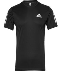 3-stripes club tee t-shirts short-sleeved svart adidas performance