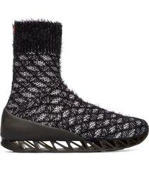 camper lab bernhard willhelm, sneaker uomo, nero/bianco, misura 46 (eu), k300309-001