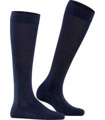 women's falke family knee high socks, size 35/38 - blue