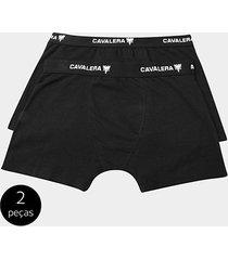 kit cueca boxer cavalera 2 peças