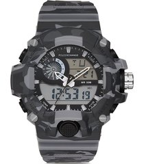 reloj digital camouflage gris poloexchange