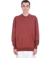 drkshdw granbury sweatshirt in bordeaux cotton