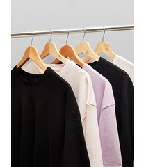 mens 5 assorted color oversized t-shirt multipack*