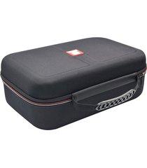 caso exquisito negro bolsa de almacenamiento de gran capacidad de almacenamiento eva bolsa multifunción