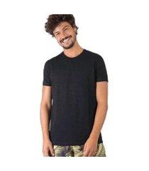 t-shirt básica flamê fit premium masculina