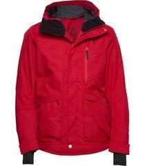 ace jacket outerwear sport jackets röd wearcolour
