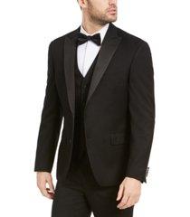 alfani men's slim-fit stretch black tuxedo jacket, created for macy's