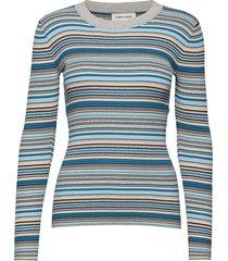 nap-bl stickad tröja blå storm & marie