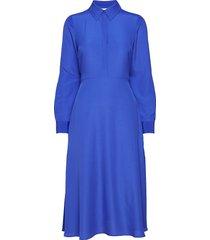 2nd cora jurk knielengte blauw 2ndday
