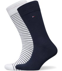 th men small stripe sock 2p underwear socks regular socks vit tommy hilfiger