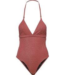 kelly swimsuit baddräkt badkläder röd underprotection