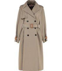tory burch gabardine trench coat