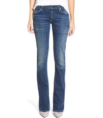 women's citizens of humanity 'emannuelle' slim bootcut jeans, size 25 - blue