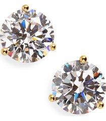 women's nordstrom 4ct tw cubic zirconia earrings
