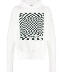 ambush ambush logo & print hoodie