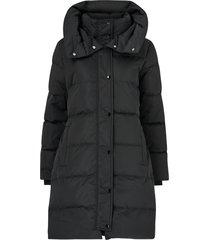 dunkappa mala puff coat long