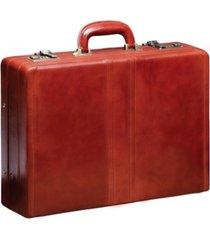mancini signature collection luxurious expandable attache case