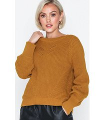object collectors item objapril l/s knit pullover pb6 stickade tröjor