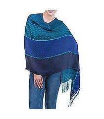 alpaca blend shawl, 'passionate woman' (peru)