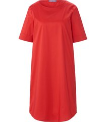 jurk omslag aan de korte mouwen van day.like rood